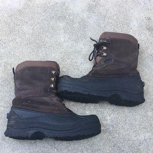 Super warm brown Kamik Winter snow boots size 10